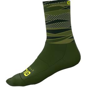 Alé Cycling Rock Socks Men army green